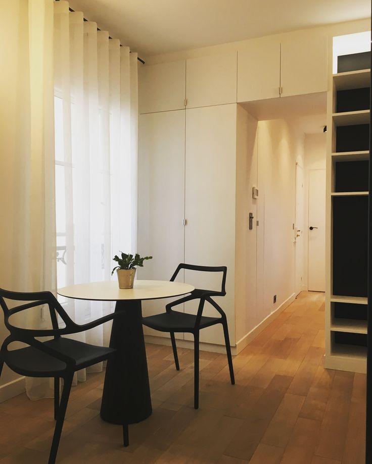 Aménagement sur mesure d'un petit appartement  Projet de l'agence KP