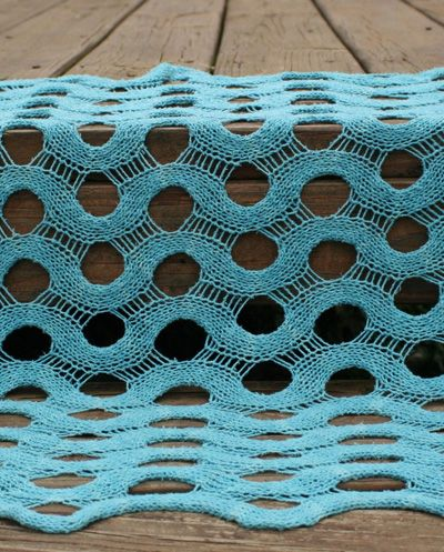 Pretty cool looking!  Free pattern Summit shawl: Knitty Spring+Summer 2010