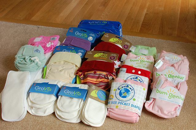 9 Different Types of Cloth Diapers and How They Are Different