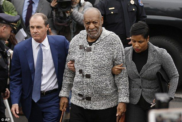Suing his accuser: Bill Cosby, pictured in December, filed a breach-of-contract lawsuit on Wednesday against a woman whose 2005 sexual-assault accusation led to his recent arrest