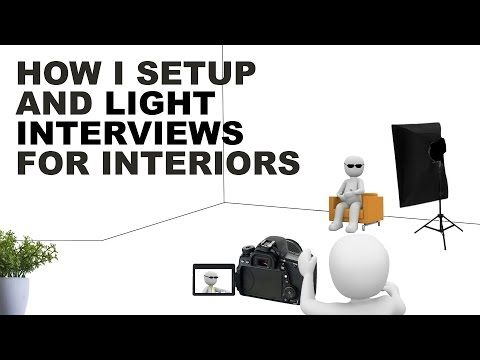 How To Setup and Light Interviews for Interiors - ISO 1200 Magazine | Photography Video blog for photographers