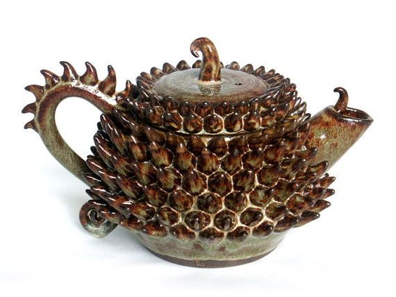 On Etsy: Stoneware Dragon Tea Pot;  Luciene Calabria; London, England