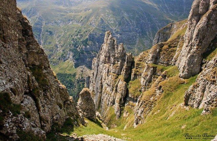 Erdélyi tájfotók - Molnár-fogak - Bucsecs-hegység  fotó Bereczki Barna