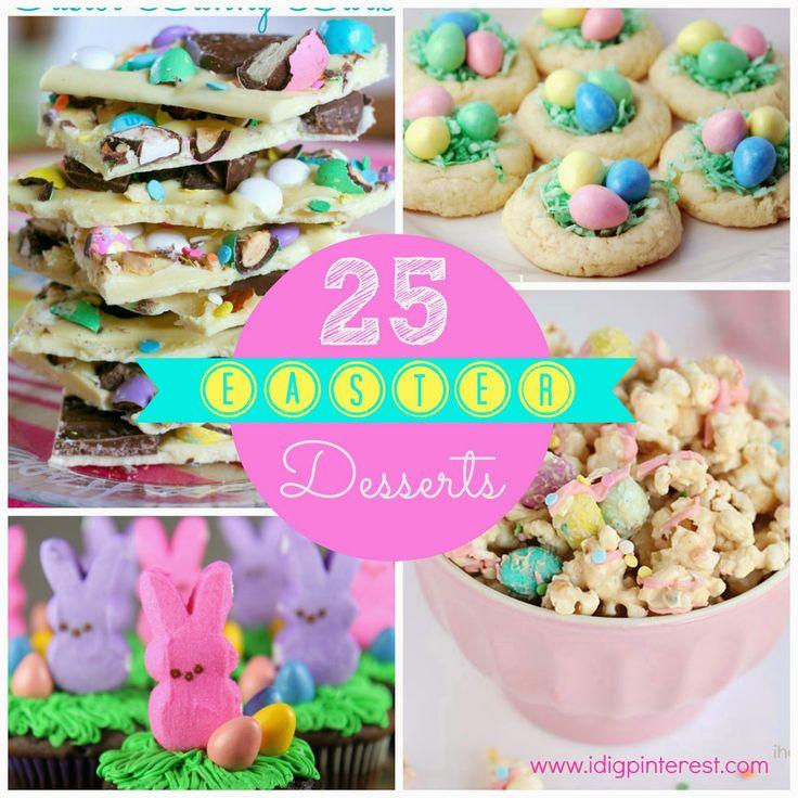 I Dig Pinterest: 25 Pretty & Yummy Easter Desserts