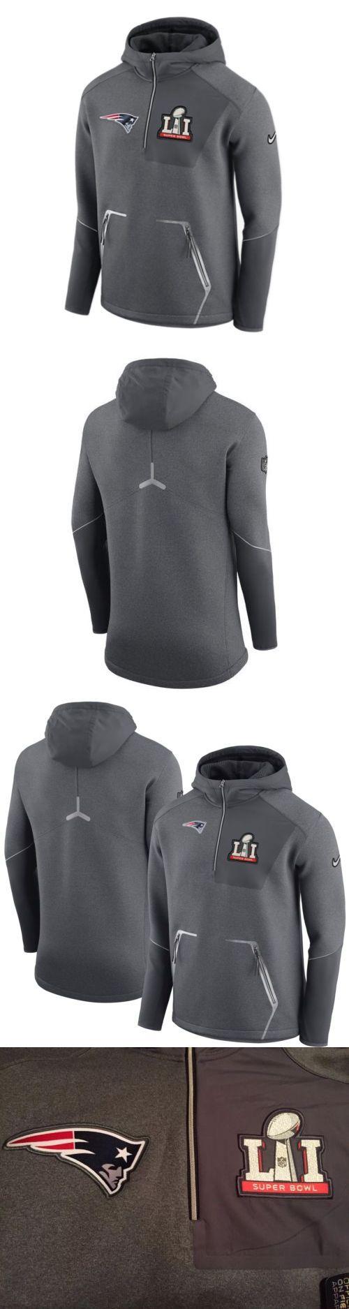 Football-NFL 206: Nike New England Patriots Super Bowl Li Media Day Jacket Hoodie (Men S Large) -> BUY IT NOW ONLY: $130 on eBay!