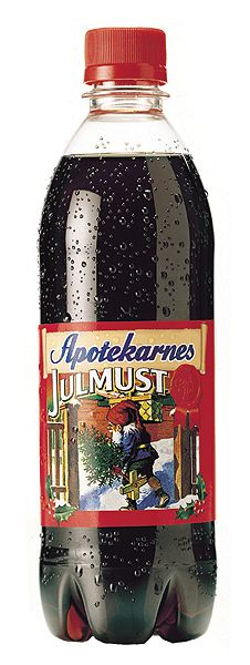 Apotekarnes Julmust - A Christmas drink in Sweden.