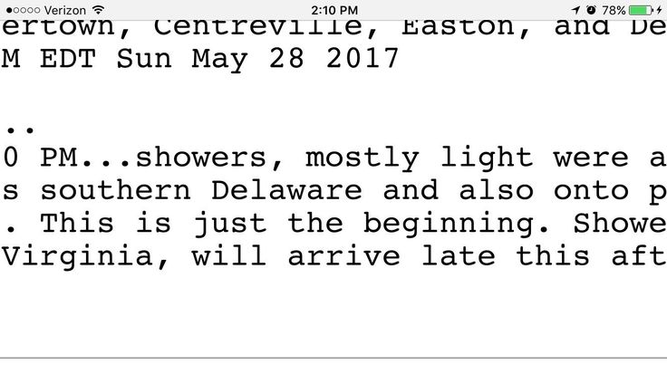 NWS sounds like the antagonist of a disaster film.