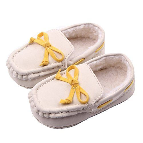LIDIANO Baby Winter Warm Dull Polish Vamp Non Slip Soft Sole Toddler Crib Shoes First Walker with Bow & Tassels (12-18 Months, #7 Beige) LIDIANO http://www.amazon.com/dp/B018R09FKU/ref=cm_sw_r_pi_dp_xJsLwb0PF7EHQ