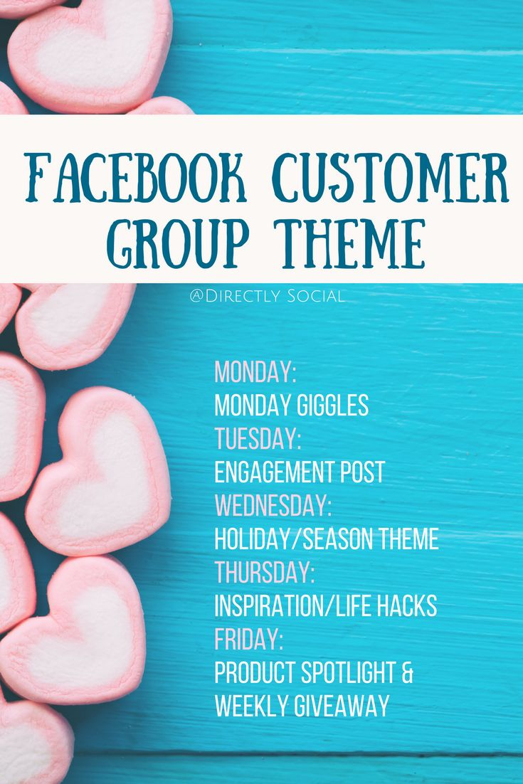 Learn how to use themes for your customer groups on facebook to stay consistent in your direct sales business!