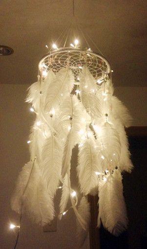 Illuminated LED Dream Catcher