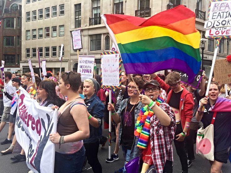 LONDON PRIDE — A-Broad In London. European's largest gay pride parade. 2016