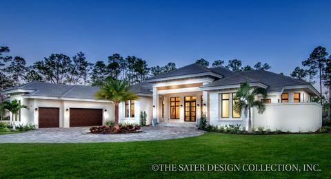 The Benton House Plan l Sater Design Collection l Concrete Home Plans #houseplans