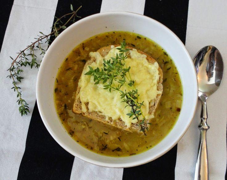 Pyry na Gaz: Francuska zupa cebulowa