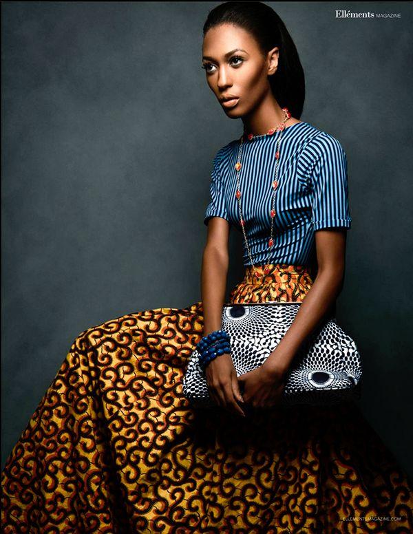 Print Culture --- Photography: Jared Pierson Wardrobe: Kachi Designs