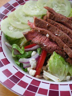 Grilled Steak and Gorgonzola Salad | Salads | Pinterest