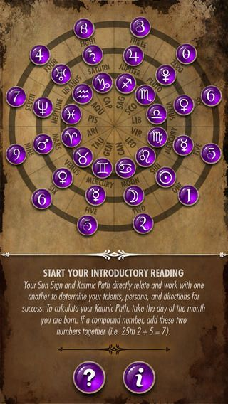 The Astrology & Numerology Wheel highlights the planetary connection between astrology and numerology, while demonstrating how they intertwi...