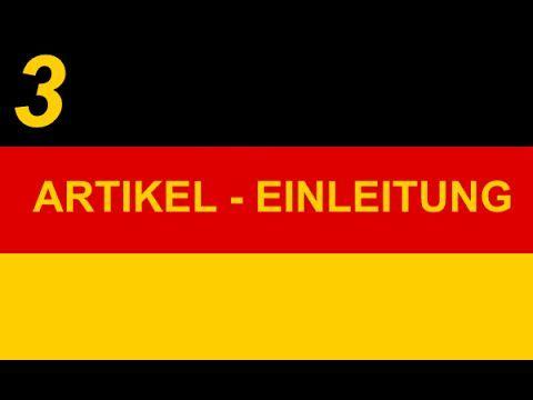 [3] Němčina se Zdendou - Členy; úvod