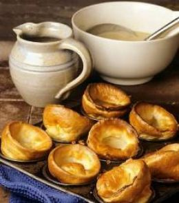 I was born in England so Yorkshire pudding was always on the dinner table when we had Sunday dinner. My mother always served them with roast beef, mashed potatoes and some type of vegetables. I have taken this recipe from my mother and haven't...