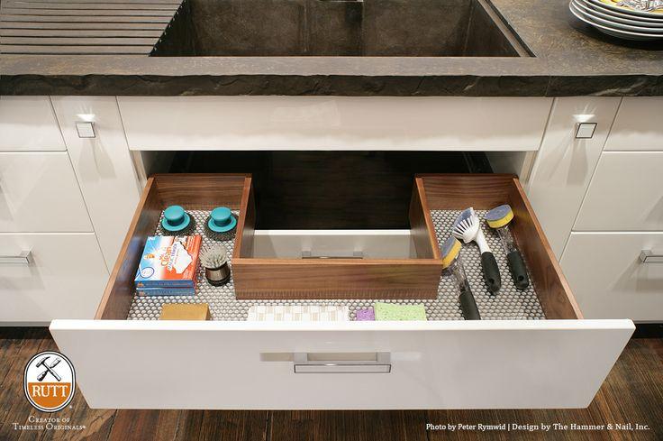X  Under Kitchen Sink Drawer Protection