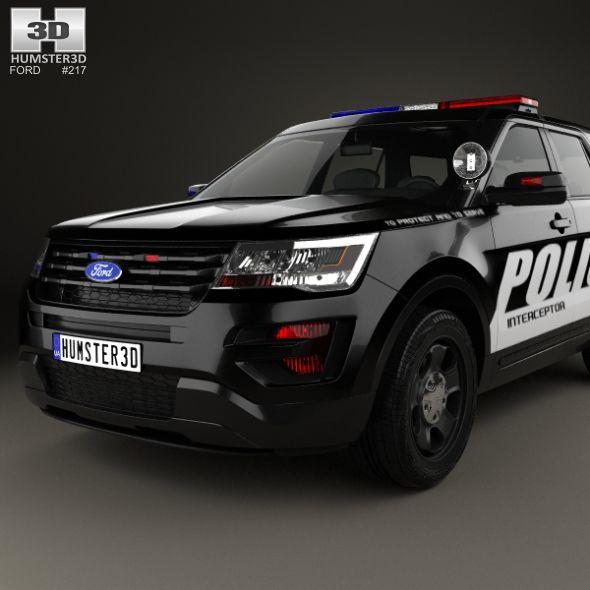 Ford Explorer Police Interceptor Utility 2016 Police Explorer Ford Utility Ford Explorer Ford Vehicles