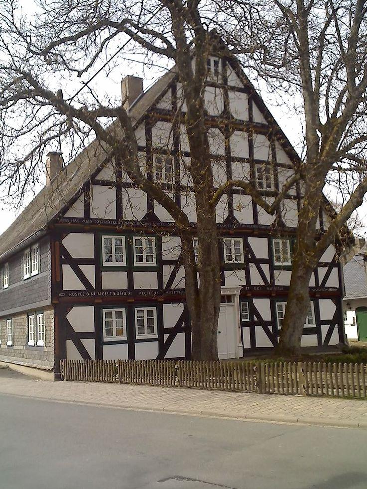 Medebach/Sauerland- Küstelberg Fachwerkhaus