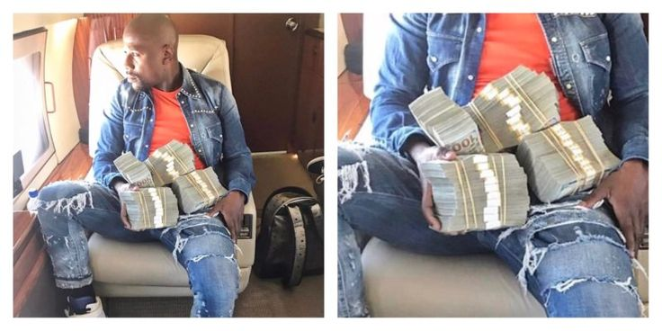 Floyd Mayweather Bets on Isaiah Thomas and Wins $400K - Basketball Bicker – Floyd Mayweather bet on Isaiah Thomas and the Boston Celtics to win their NBA playoff game, and banked a cool $400K.