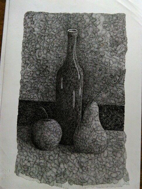 China Bottiglia e Frutta