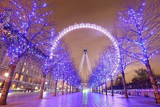 London in Xmas time