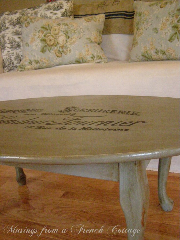 Musings From A French Cottage: A French Coffee Table