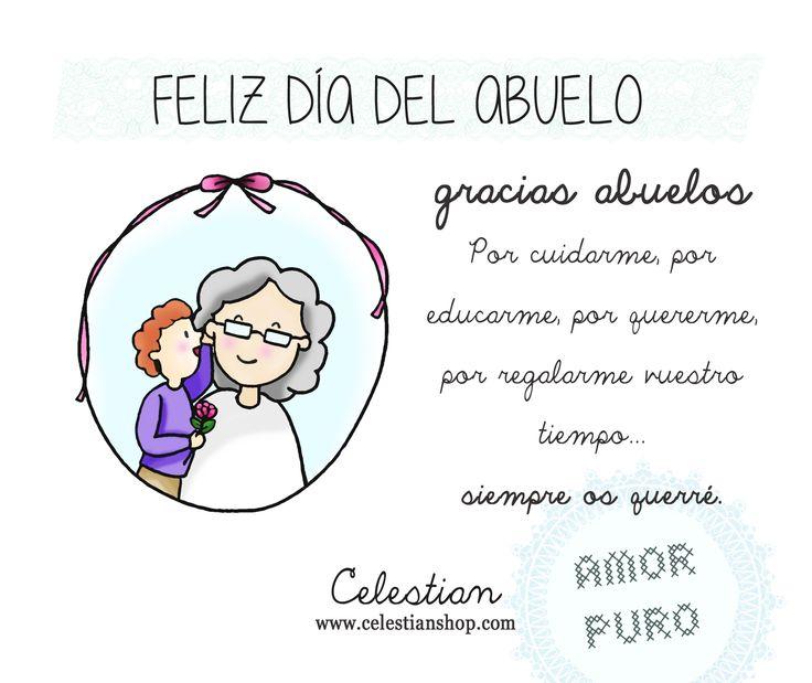 Porque hoy es su día y se merecen lo mejor ¡Felicidades abuelos!  #diadelabuelo www.celestianshop.com