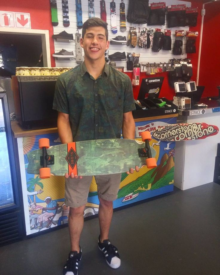 """Super hyped that we sort the dude @bellassimo_stefano out with this 33"""" Camo @globebrand x @globebrandsa """"Chromantic"""" complete! Enjoy it skate safe j stay stoked!  Welcome to the #csskateshopfam dude!  #csskateshop x #christmasiscoming x #globe"""