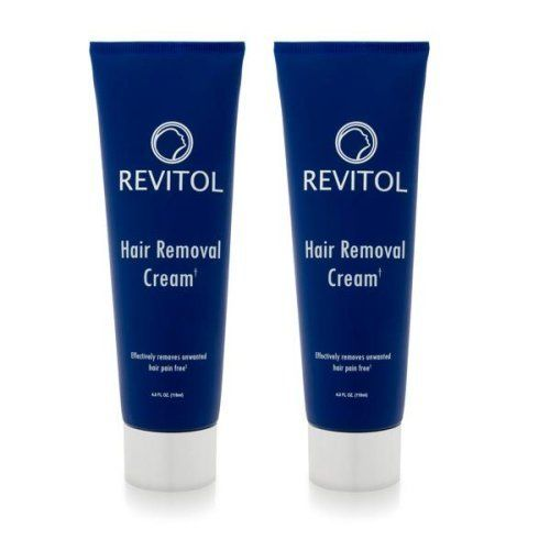 Revitol Hair Removal Cream (2 ~ 4 ounce Bottles) by Hair Removal Cream. $39.95. Shaving, razor cuts, razor burn, waxing, electrolysis, tweezing, laser treatments... all of which are painful and time consuming.   Hair Removal Plus can be used on your chest, back and shoulders, abdomen, arms & underarms, hands, legs, feet & toes, bikini line, face, chin & upper lip, as well as eyebrows!  Hair Removal Plus advanced hair vanishing crème painlessly eliminates unwanted bo...