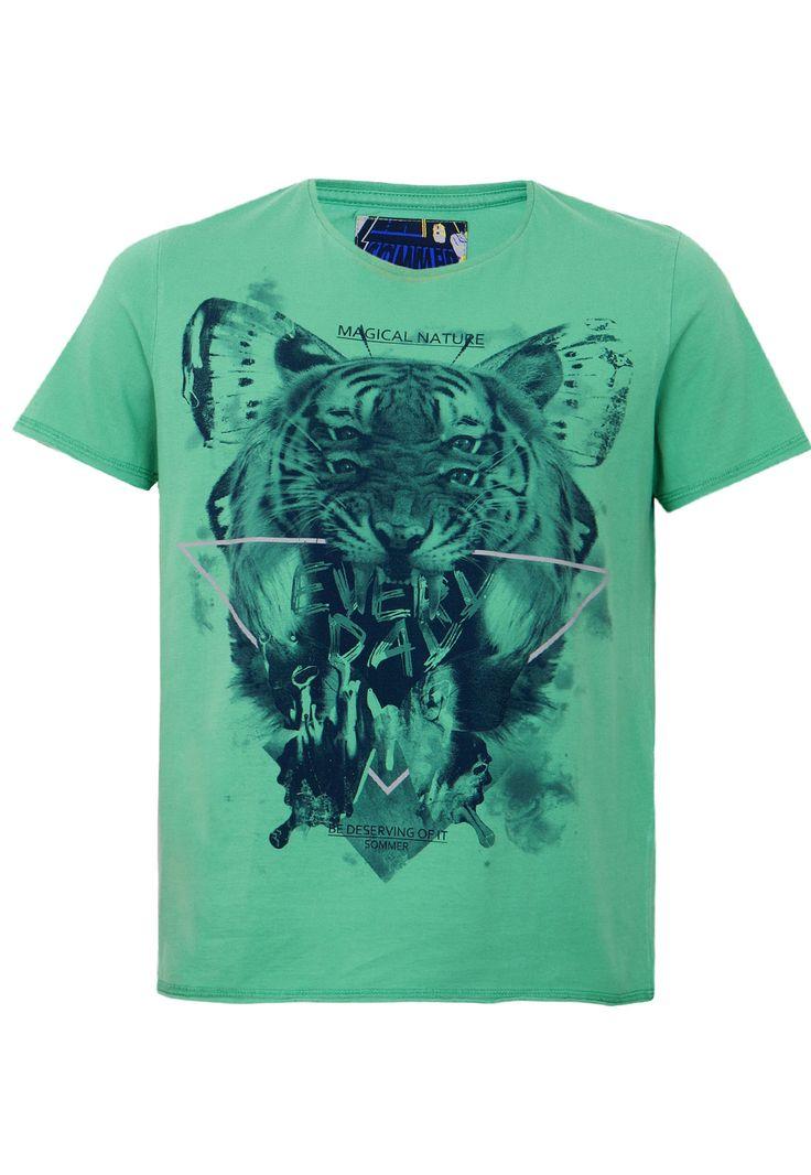 Camiseta Sommer Mini Roar Verde