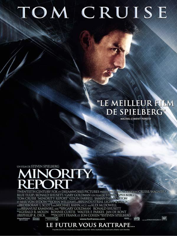 Minority Report de Steven Spielberg
