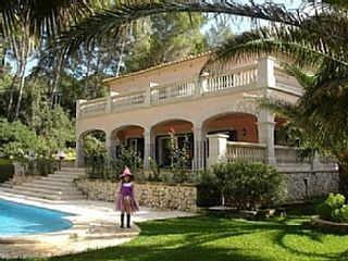 Beautiful Villa With Private Pool And Gardens With Sea Views   Holiday Rental in Alcudia from @HomeAwayUK #holiday #rental #travel #homeaway