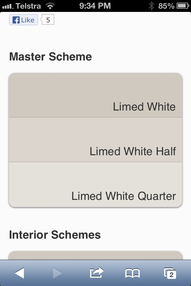 Dulux Limed White Currently Have Full But Thinking Half Or