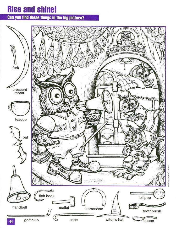 Beautiful Hidden Picture Coloring Pages Images New Printable