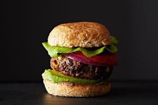 These veggie burgers are a little bit spicy, thanks to a mixture of paprika, cumin, and chili, and a little bit sweet, thanks to fresh summer corn. They've got texture, taste, and tons of nutrition, too.