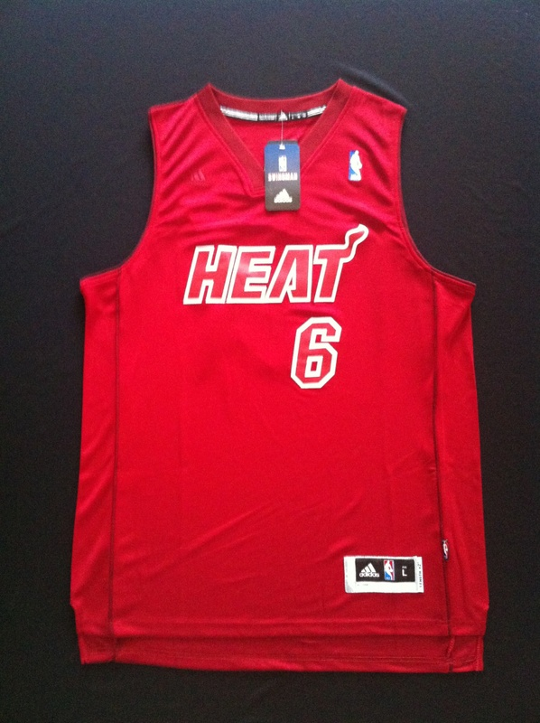 The new season christmas heat james red 6 jerseys