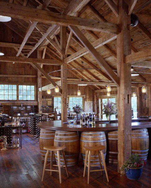 Cellardoor Winery- Lincolnville Maine. A short drive inland from Lincolnvile Beach. Enjoy tastings or order up a glass in a local restaurant.
