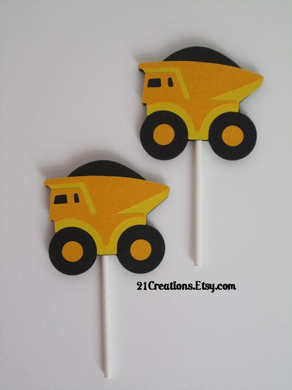cupcake toppers using B is for Boy cricut lite cartridge.
