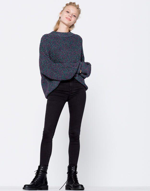 Jean Second Skin Fit - Jeans - Vêtements - Femme - PULL&BEAR France