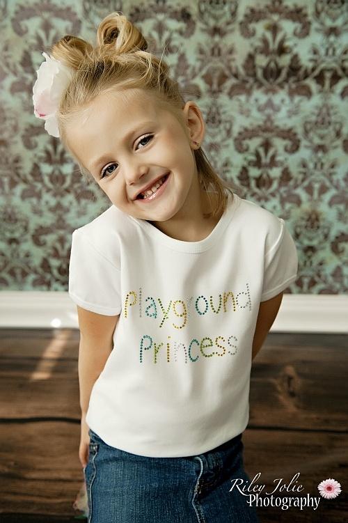 Playground Princess Rhinestone TeePrincesses Rhinestones, Eriksson Nottingham, Sara Nottingham, Birthday Parties, Playgrounds Princesses, Sara Eriksson, Rhinestones Tees, Parties Ideas