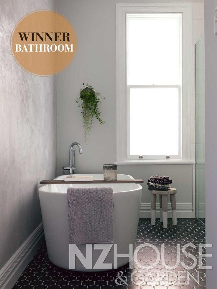 Bathroom Winner 2014 - NZ House and Garden