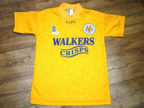 "Fox Leisure - Leicester City FC Third Shirt (1992/1995) BOYS (30/32"" Chest)"