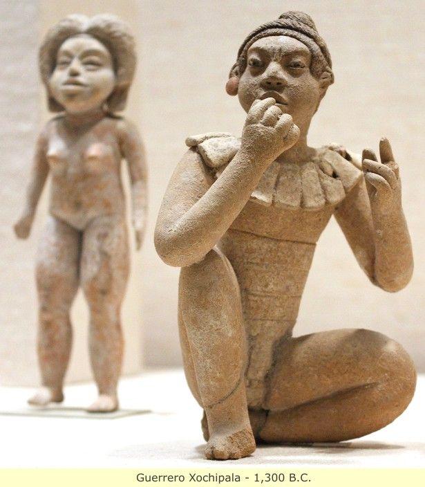 The original Black civilizations of Mexico and Mesoamerica | Guerrero Xochipala - 1,300 B.C.