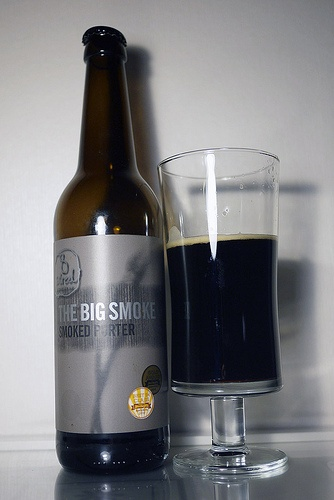 8 Wired - The Big Smoke (Smoked Porter). To be honest, it will take me a while to get into smoked beers. This was the first (and currently only) smoked beer I've had. The nose was great, don't get me wrong, but there was something about the smokiness that put me off slightly. Will definitely need to try it again, if just to get used to the flavour.