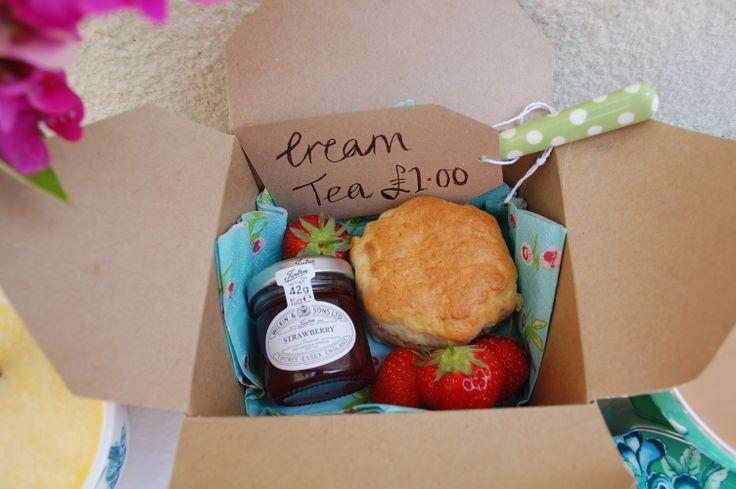 Cream Tea box...