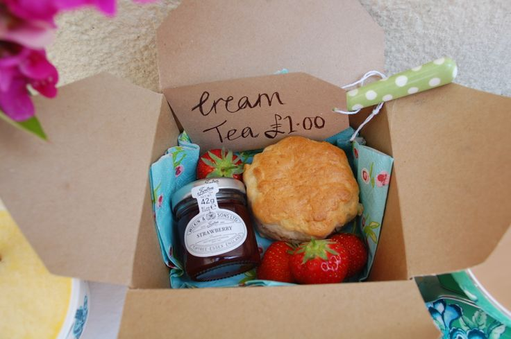 Cream Tea box...