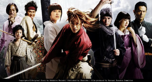 'Kenshin' to become a trilogy with two live-action Kyoto Arc movies  - http://sgcafe.com/2013/07/kenshin-trilogy-live-action-kyoto-arc-movies/